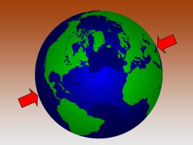 地球的另一方是什麼地方?